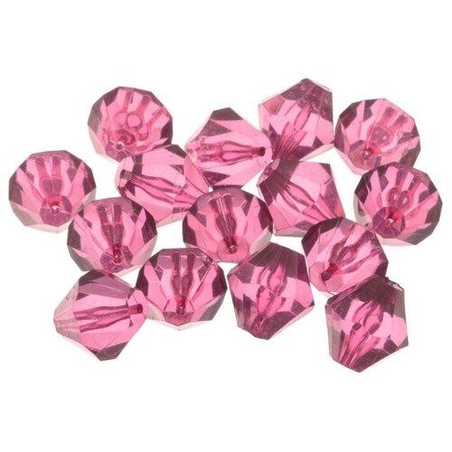 Купить Astra & Craft бусины 684982 прозрачные 5 розовый, Фурнитура для украшений