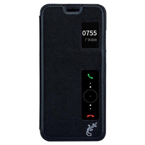 Чехол-книжка G-Case Slim Premium для Huawei P20 (книжка) черный чехол книжка smarterra shellcase sc18hp20lbk для huawei p20 lite черный