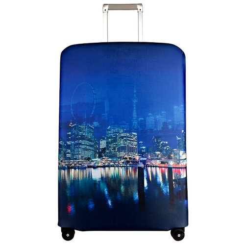 Чехол для чемодана ROUTEMARK Voyager SP500 L/XL, синийЧемоданы<br>