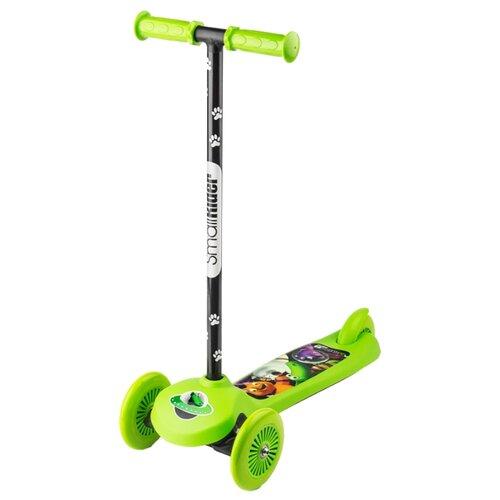 Кикборд Small Rider Cosmic Zoo Scooter зеленый