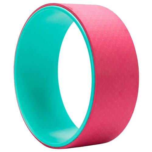 Фото - Колесо для йоги BRADEX SF 0291 зеленый/розовый блок для йоги bradex sf 0407 sf 0408 sf 0409 серый