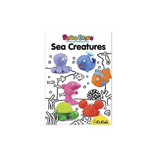 Конструктор K's Kids Popbo Blocks KA10674 Морские обитатели