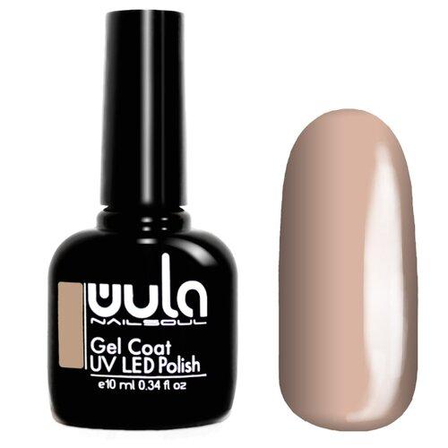 Гель-лак для ногтей WULA Gel Coat, 10 мл, оттенок 326 светлый персиково-бежевый гель лак patrisa nail dream pink 8 мл оттенок n3 бежевый