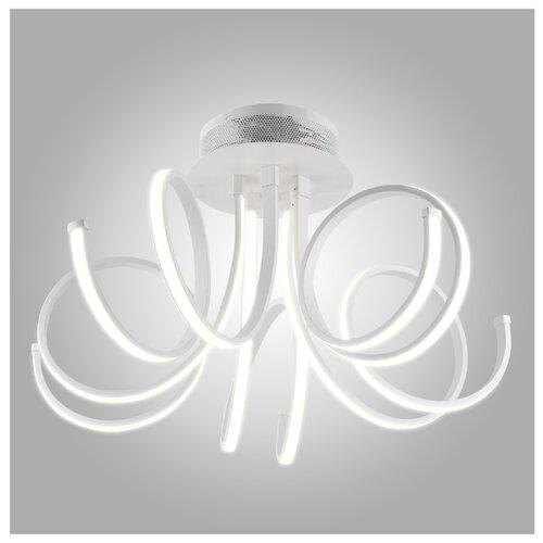 Светильник светодиодный Eurosvet Aries 90042/5 белый, LED, 110 Вт светильник светодиодный eurosvet range 40005 1 кофе led 54 вт