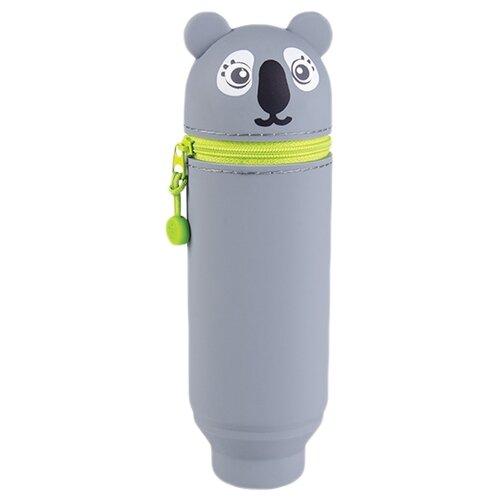 Купить Berlingo Пенал Koala (PM05623) серый, Пеналы