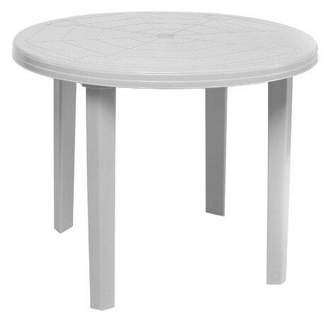 Стол обеденный садовый Туба-Дуба пластиковый круглый