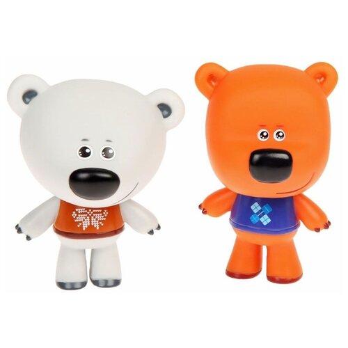 Купить Набор для ванной Играем вместе Мимимишки Кеша и Тучка (LX-M304) белый/оранжевый, Игрушки для ванной