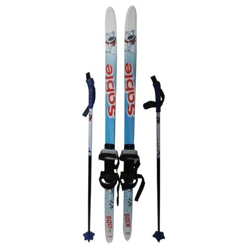 Беговые лыжи STC Step Sable Kids голубой 140 см по цене 1 314