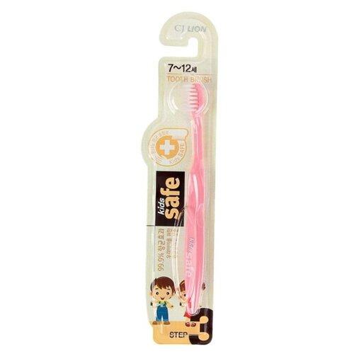 Купить Зубная щетка CJ Lion Kids Safe №3 7-12 лет, Гигиена полости рта