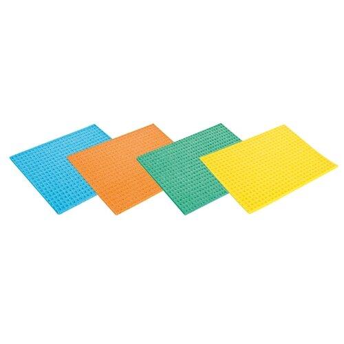 Тряпка губковая Tescoma Clean Kit 4 шт, синий/оранжевый/зеленый/желтый