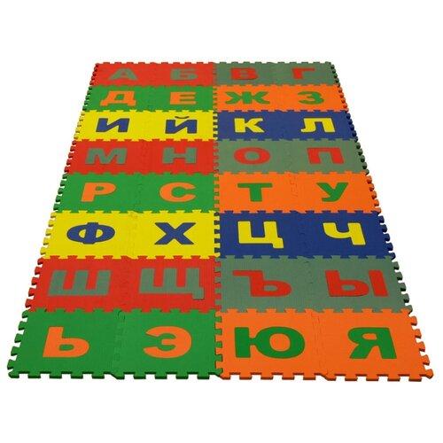 Купить Коврик-пазл ЭкоПолимеры Русский алфавит (25МПД2/Р), Игровые коврики