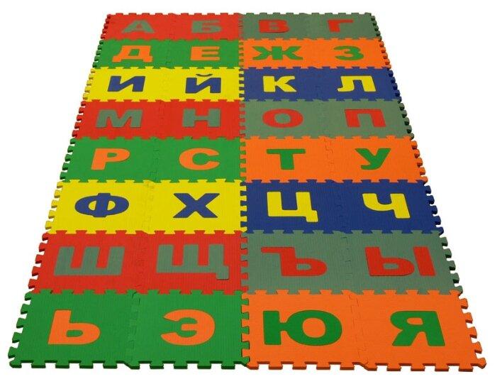 Коврик-пазл ЭкоПолимеры Русский алфавит (25МПД2/Р)