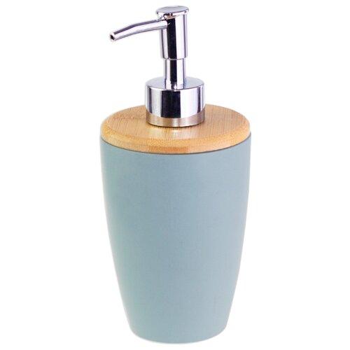 Дозатор для жидкого мыла PROFFI Home Blue Lagoon PH9579, голубой дозатор для жидкого мыла proffi la maison de beaute ph9283 серо голубой
