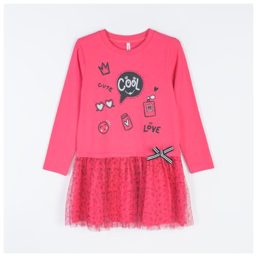 Платье COCCODRILLO размер 92, розовый