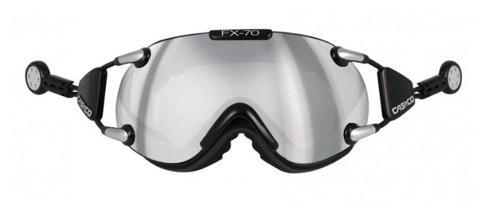 Горнолыжная маска Casco fx70 Carbonic Black/Silver