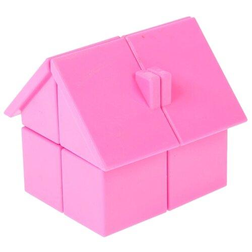 Головоломка 1 TOY Домик (Т14211) розовый головоломка 1 toy шар т14208