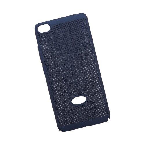 Чехол Liberty Project Сетка Soft Touch для Xiaomi Mi 5S темно-синийЧехлы<br>