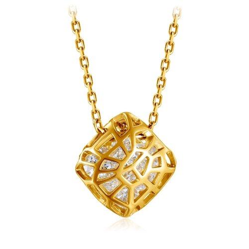 Бронницкий Ювелир Колье из желтого золота 54311835, 47 см, 2.81 г бронницкий ювелир колье из желтого золота 54319559 45 см 2 98 г