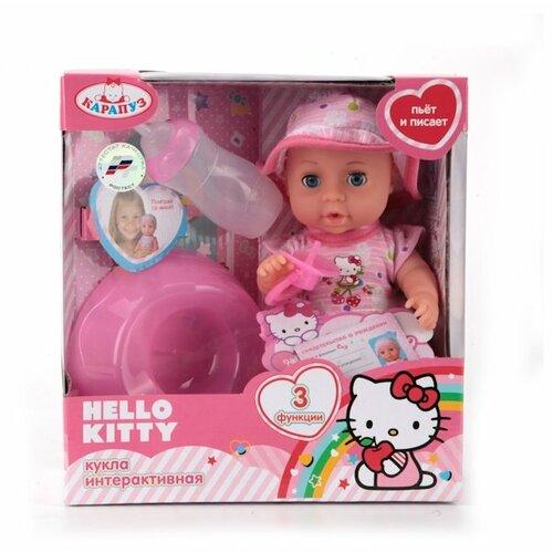 Фото - Интерактивная кукла Карапуз Hello Kitty Пупс 20 см Y20DP-BR-RU карапуз пупс 20 см 3 функции с аксессуарами карапуз