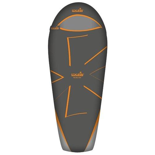 Спальный мешок NORFIN Nordic 500 черный/оранжевый с правой стороны