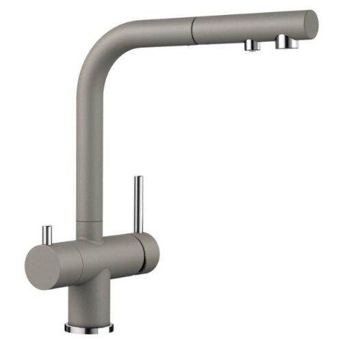 Смеситель для кухни (мойки) Blanco Fontas-S II (гранит) однорычажный серый беж смеситель для кухни мойки blanco fontas s ii гранит однорычажный темная скала