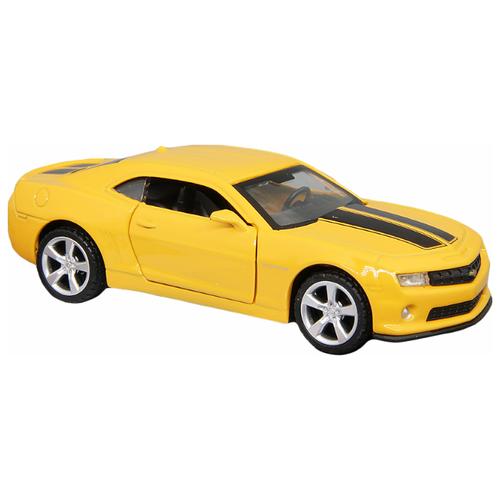 Купить Легковой автомобиль Автопанорама Chevrolet Camaro SS (J12285/JB1200137) 1:43 11.1 см желтый, Машинки и техника