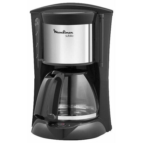 Кофеварка Moulinex FG 3608 черный/серебристыйКофеварки и кофемашины<br>