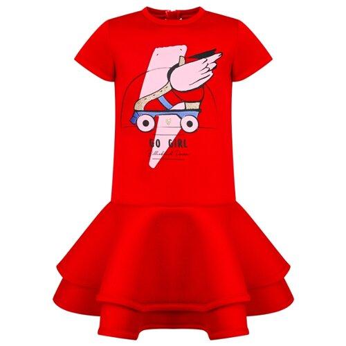 Платье Billieblush размер 92, красный платье oodji ultra цвет красный белый 14001071 13 46148 4512s размер xs 42 170