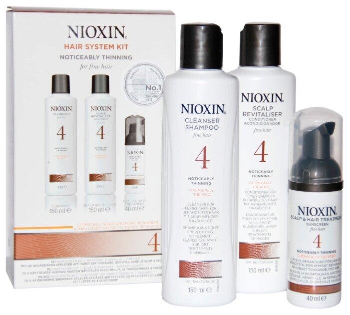 Nioxin Cleanser System 4 - Очищающий шампунь (Система 4), 300 мл