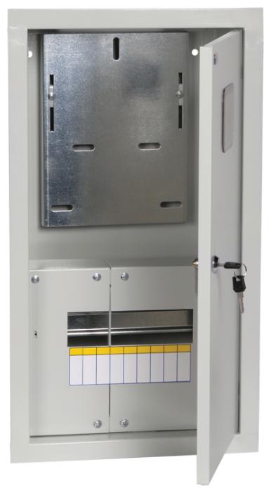 Щит учетно-распределительный IEK встраиваемый, модулей: 9 MKM34-V-09-31-ZO