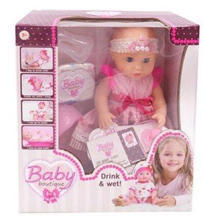 Кукла ABtoys Baby boutique, 25 см, PT-01036 — цены на Яндекс.Маркете