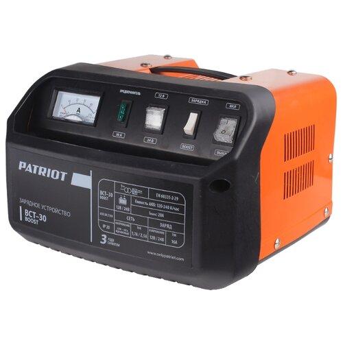 цена на Зарядное устройство PATRIOT BCT-30 Boost черный/оранжевый