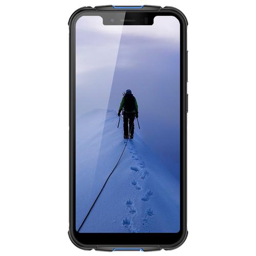 Смартфон Wigor V5 черный / синий смартфон