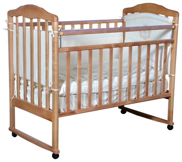 Кроватка Кедр Helen 1 (колесо, качалка)