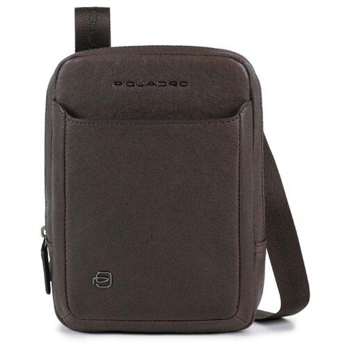 сумка планшет piquadro натуральная кожа табачный Сумка планшет PIQUADRO, натуральная кожа, коричневый