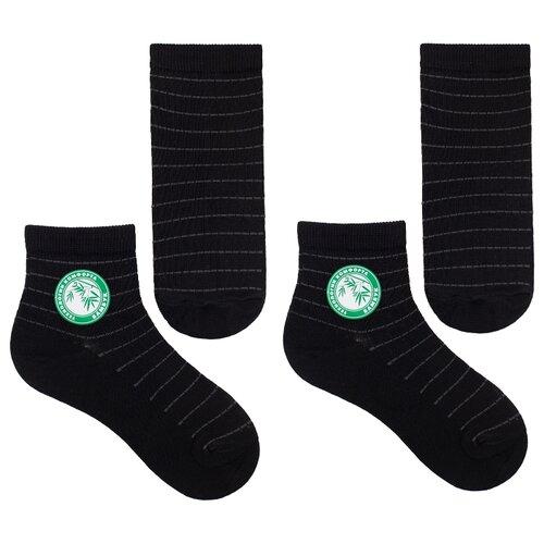 Купить Носки НАШЕ комплект из 2 пар, размер 16 (14-16), черный