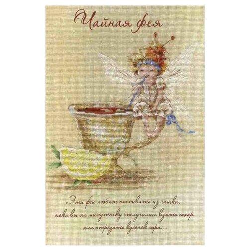 Купить М.П.Студия Набор для вышивания Чайная фея 30 х 20 см (РК-475), Наборы для вышивания