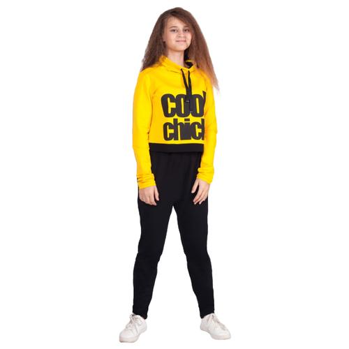 Купить Спортивный костюм Nota Bene размер 158, желтый, Спортивные костюмы