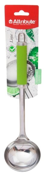Половник Attribute Lime, нержавеющая сталь/пластик