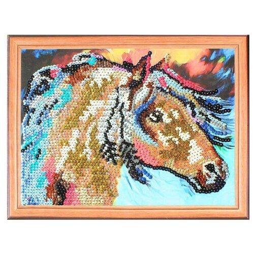 Купить Color Kit Картина из пайеток Лошадь (CME009), Картины из пайеток