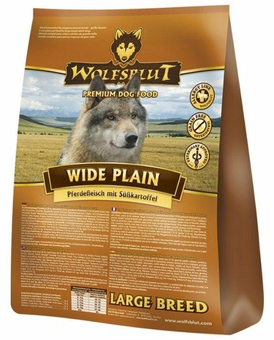 Корм для собак Wolfsblut Wide Plain Large Breed