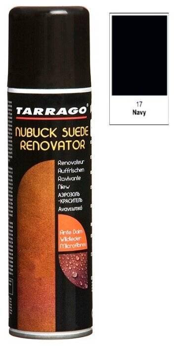 Купить TARRAGO - Аэр. для замши Nubuck Suede Renovator, 250мл. (017 - navy) по низкой цене с доставкой из Яндекс.Маркета (бывший Беру)