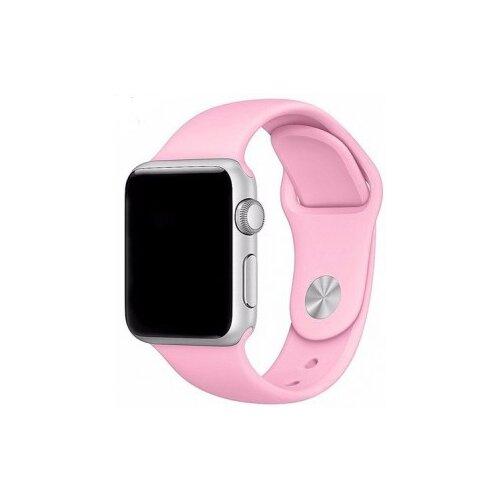 Фото - EVA Ремешок спортивный для Apple Watch 38/40mm розовый eva ремешок спортивный для apple watch 42 44mm розовый