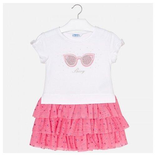 Купить Платье Mayoral размер 110, розовый, Платья и сарафаны
