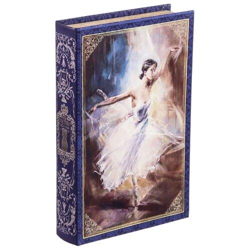 Русские подарки Шкатулка Балет 184380 синий