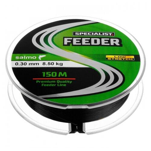 Монофильная леска Salmo Specialist Feeder черный/красный 0.3 мм 150 м 8.5 кг