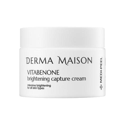 Купить MEDI-PEEL Derma Maison Vitabenone Brightening Capture Cream Крем с идебеноном и мультивитаминным комплексом для лица, 50 мл