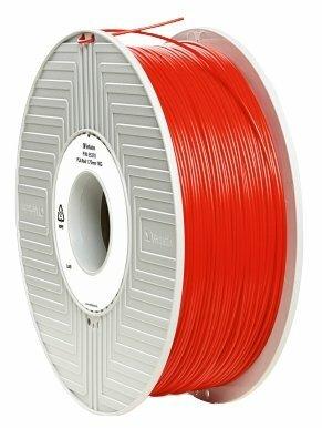 PLA пруток Verbatim 1.75 мм красный