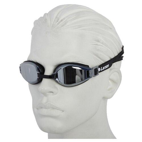 Очки для плавания Larsen R1229UV черный цена 2017