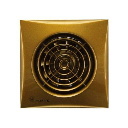 Вытяжной вентилятор Soler & Palau SILENT-100 CZ, gold 8 Вт